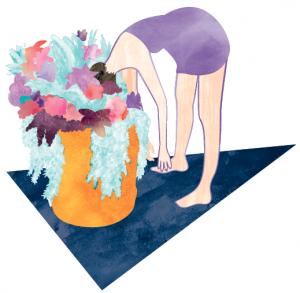 flower-head-purple